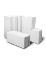 Блок из ячеистого бетона 100х300х600  D 500